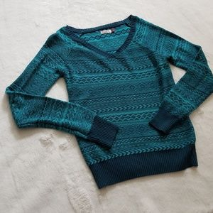 SO Tribal Pattern Sweater